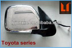 auto mirror manufactory customized,toyota hiace chrome accessories