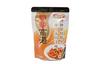 Fast Food Plastic Ziplock Bags , Food Grade Standing Pouch