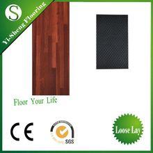 high quality hot sale wood design pvc interior linoleum floor