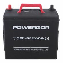 NS60-MF 12V 45AH mf battery,car battery, battery car for wholesale