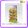 Compartment Corrugated Paper Cardboard Toy display Rack