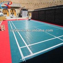 250mm*250mm portable badminton court flooring