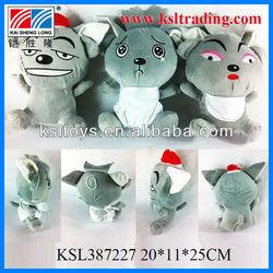 plush toys non-toxic for selling plush big big wolf toys