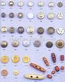 özel ek düğmeleri metal