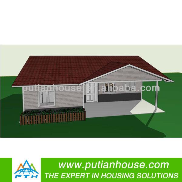 kenya low cost watetproof steel villa