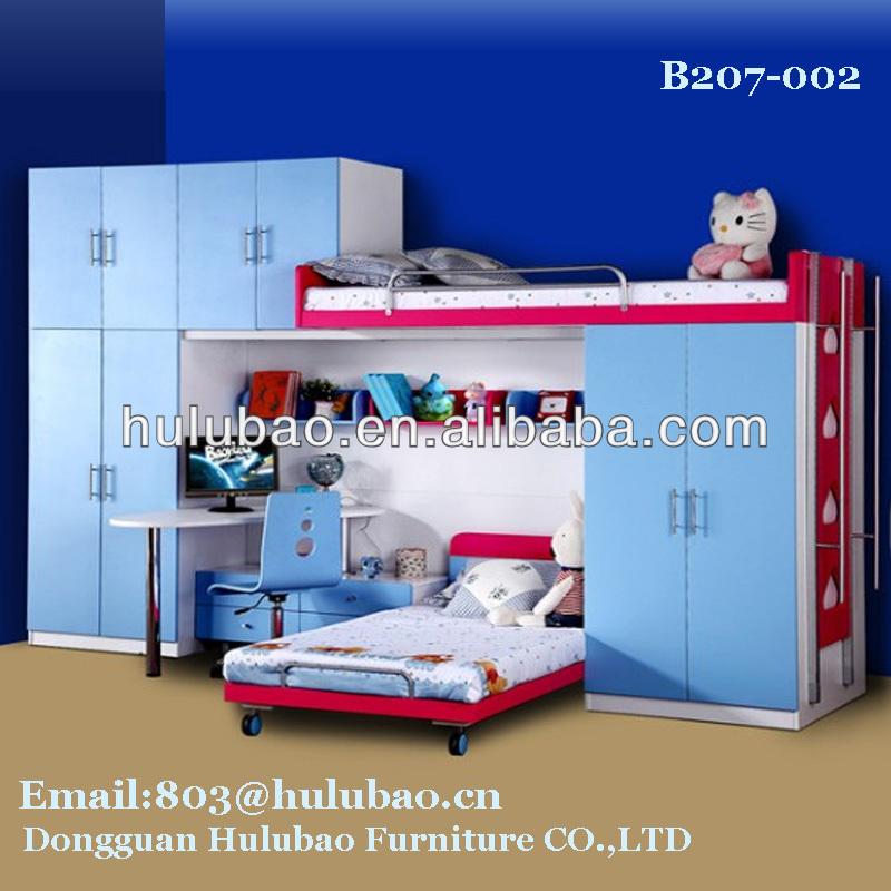 çocuk odası mobilya çocuklar ranza, tekerlekli yatak, iki kapılı