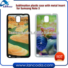 Sublimation waterproof case for samsung galaxy note 3