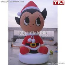 inflatable Giant beatiful girl cartoon