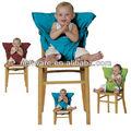 venda quente azul segurança baby cinto da cadeira