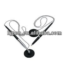 Popular Metal Logo Pen, Bank Chain Pen