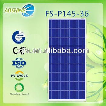 New 144 Watt 18v Polycrystalline Solar Panel 144W