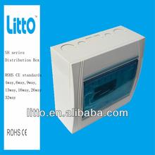 SH series Electrical Distribution Box Panel Box 220V~380V 4 ways to 32ways