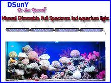 Hot sale!Dimmable submersible led lights aquarium no fan no noise suits fresh water tank