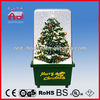OEM Christmas Blinking LED Light bulbs with cover, samll green PVC Christmas Tree