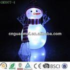 2014 wholesale indoor decoration glass snowman
