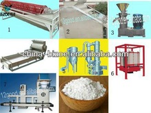 saving 30% power and energy and free physalis 7t/d yam processing machine