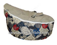 Sports rugby grey seat baby beanbags chair, child Todler Bean Bag Kid Pod Seat Bean Bag, Nursery Snuggle Bed