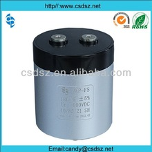 HIGH DENSITY DC FILM CAPACITORS for wind/solar power/ industrial frequency converter