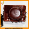 leather camera bag,leather camera bag case,retrostyle leather protective casing cover for panasonic dmc lx7
