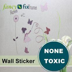 wall decor music notes diy sticker wall clock
