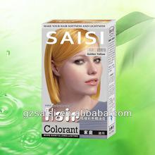 2014 new arrival !!! Permanent for man&women household PPD-free Non-allergy speedy hair dye