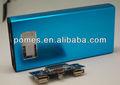 Nuevo Desigh banco Portable de la energía 12000 mah para el Smartphone