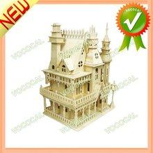 Villa Shape 3D Puzzle Wooden Educational Toys
