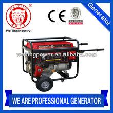 2014 new design powerful 6kw petrol generator 12v dc(WT8500E)