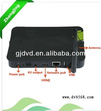 build-in antenna external antenna 2013 hot sale Android 4.2 tv box