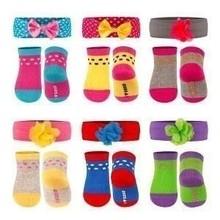 Soxo Infant Set - Socks with Headband
