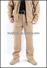 Hot selling stylish military army uniform khaki color pants