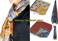 vintage kantha silk scarves