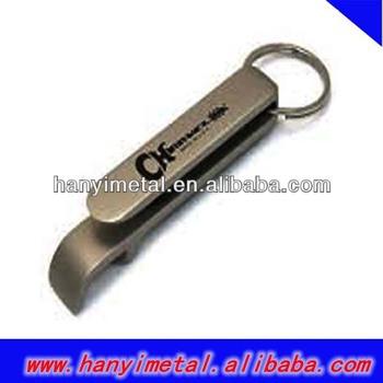 Promotional key chain beer bottle opener