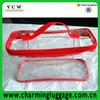 wholesale transparent pvc zip bag/clear pvc bag