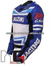 Suzuki Motorcycle Racing Leather Jacket