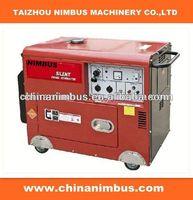 asia semi-automatic Diesel Generators mejor generador silencioso