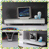 tempered glass country style fashion tv stand B187