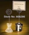 النمط الأوروبي العروس والعريس وبراويز حامل البطاقة الديكور الزفاف الساحرة الطرف الامدادات