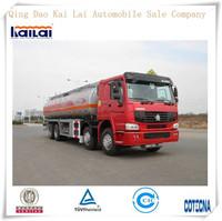Sinotruk HOWO 8X4 oil tank truck/fire truck for sale