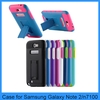 Heavy Duty Hybrid Rugged Case Cover Kickstand case For Samsung Galaxy Note 2 N7100 Note 3 s4 s3 iphone 5s 5c 4s(PT-SN2210)