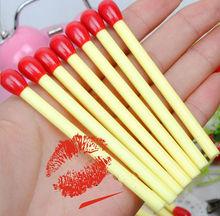 Cute novelty matchstick ball pen refill