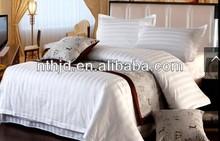 80s 400T stipe president suite bedding set/hotel linen/bed sheet/duvet cover