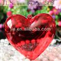 acrílico distribuidor de doces caixa com a forma de coração