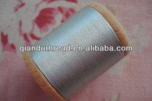 Seda pura mão linhas de costura 100 yd. Carretel de madeira