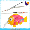 Hot selling!HY-868 blowing bubble flying fish rc toy helicopter