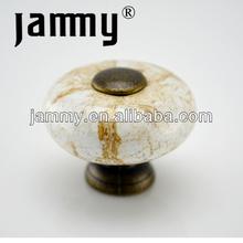 Classical ceramic knobs,ceramic decorative handle knob,ceramic pull handle