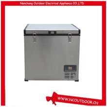 80L portable small size fridge 12v used fridge