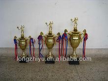 Baseketball trophy - female 42cm, souvenir 3D pewter trophy