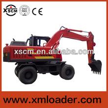 xscm st125w cina 12 ton terna escavatore idraulico