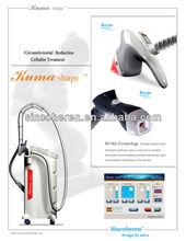KUMA Shape ii Velashape V8 China Sincoheren body slimming shaping beauty equipment CE FDA tommy face massager machine